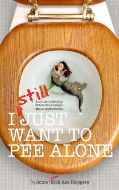 No you still can't pee alone. It's here! The much anticipated sequel to the NYT Best-Seller. Fourty hilarious writers share their stories from the front lines of parenting! A must read!