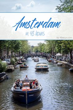 A 48 hours itinerary on what to do in Amsterdam, including top attractions such as the Anne Frank, Rijksmuseum and the Flower Market. Find out about the perfect walks to discover the beautiful architecture and top monuments in this practical travel guide!