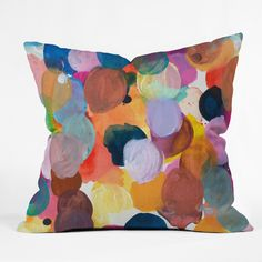 Kent Youngstrom pallet Throw Pillow | DENY Designs Home Accessories