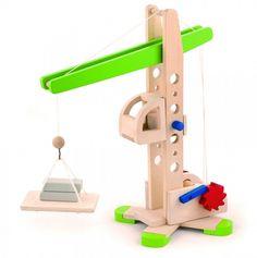 Wooden Crane Toy / クレーンあそび   VIGA TOY