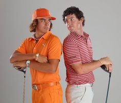 come on now boys... no need to fight over me :) Ricky Fowler // Rory McIlroy