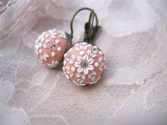 Vintage style earring by Lena Handmade от StoriesMadeByHands