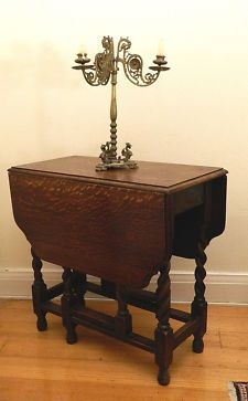 antique and vintage furniture for sale - paw foot oak deacons