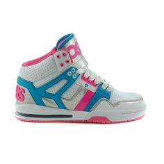 Shop for Womens Osiris NYC 83 Rucker Skate Shoe in White Pink at Journeys  Shoes. Shop today for the hottest brands in mens shoes and womens shoes at  ... e5add396fed