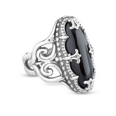Carolyn Pollack Twilight Black Onyx Ring #MostPinned #CPJFavorites