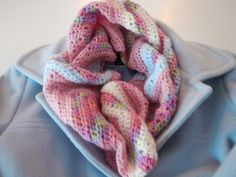 Want to make a   Chevron Infinity Scarf?            Here's how:     Gather supplies:       (I added some light blue and cream after I took ...