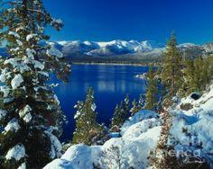 Lake Tahoe Winter - Print By Vance Fox.