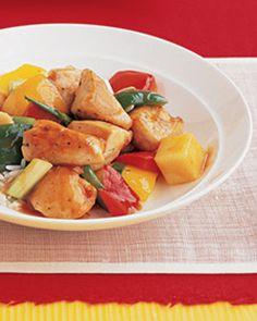 Sweet and Sour Chicken Crock Pot Recipe - Weight Watchers