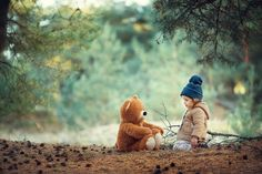 """Forever isn't long at all, Christopher, when I'm with you.""– Winnie the Pooh Toddler Photography, Autumn Photography, Newborn Photography, Family Photography, Indoor Photography, Cute Baby Pictures, Boy Pictures, Fall Pictures, Kind Photo"