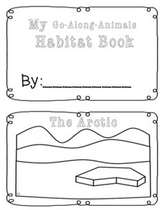 This is an animal habitat book made to go along with the BFIAR series. Children can color and sort animals from each book (linked to a storybook) to their habitat. Go-Along-Animal printables are listed separately. Kindergarten Language Arts, Kindergarten Science, Preschool Curriculum, Teaching Science, Science Activities, Animal Activities, Science Ideas, Homeschooling, Class Dojo