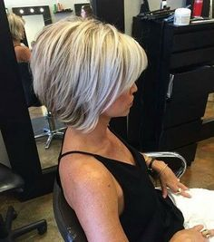 Inverted Bob Haircuts for Fine Hair