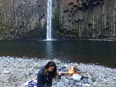 OREGON abiqua falls.