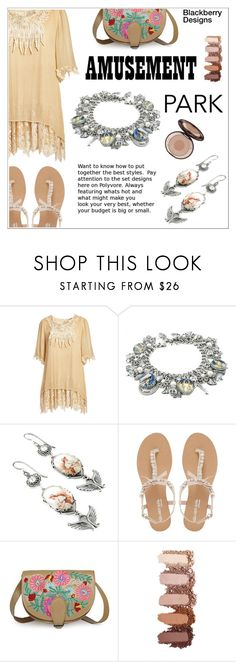 """""""Amusement Park Style"""" by shambala-379 ❤ liked on Polyvore featuring Pretty Angel, Head Over Heels by Dune and Charlotte Tilbury"""