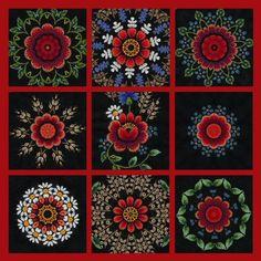 Estonian Muhu embroidery