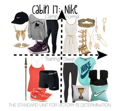 """Cabin 17: Nike"" by aquatic-angel on Polyvore featuring NIKE, UGG Australia, Dot & Bo, Palm Beach Jewelry, Laurèl, BERRICLE and Miss Selfridge"