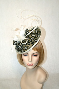Wear a fascinator like a Middleton! Great Kentucky Derby Hat! Click on photo to purchase.