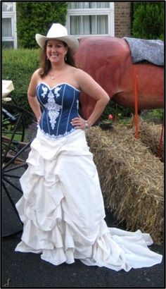 Scarlett Corset Denim Wedding, Prom Dresses, Formal Dresses, Chambray, Corset, Photo Galleries, Happy, Casual, Fashion