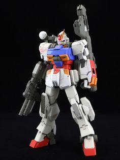 Custom Build: HGBF 1/144 Gundam Ez-SR [78]