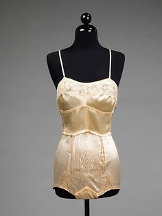 Underwear  Attributed to Louise Neut  (French, founded 1920)  Date: 1940–49 Culture: French Medium: cotton, synthetic
