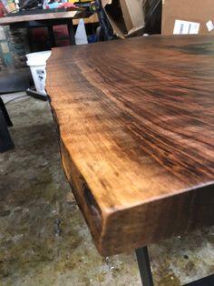 Coffee Table Height, Walnut Coffee Table, Walnut Slab, Wood Slab, Slab Table, Wood Table, All Wood Furniture, Live Edge Wood, Kitchen Chairs