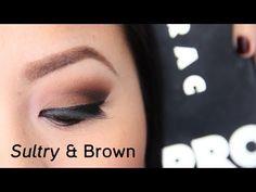 LORAC PRO Palette Sultry Brown Eye Tutorial - YouTube