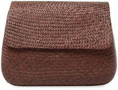 Serpui Women's Ella Buntal Clutch Bag