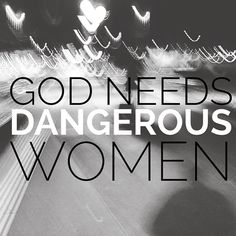 "Make sure you head over to SheLoves Magazine today. We are launching a new season, calling, and manifesto as a community: dangerous women. As @idelettemcvicker said, ""It's the danger when a woman begins to recognize her own power. It's the danger in a woman who hears the heartbeat of God. It's the danger in a woman who hones her voice. There's a popular saying that goes around the Internet: ""Be the kind of woman that when your feet hit the floor every morning, the devil says, 'O, crap, she's…"