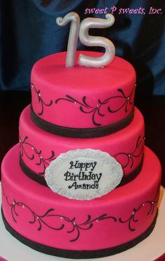 Magenta Cake Vanilla Bean Cakes Types Of Sweet 15 Let Them Eat