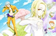 Light Novel The Seven Deadly Sins Seven Days Begins Manga Adaptation