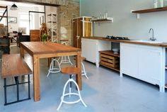 AUTHENTIC FURNITURE kitchen by Noodles, Noodles & Noodles