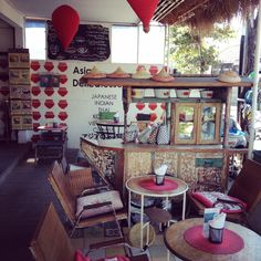 Beloved by both visitors and locals, this quirky little cafe on the side of the road outside Seminyak is a foodie's dream. The Japanese chef prepares dishes from his home country, as well as food reflecting other Asia cuisines. It