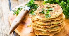 Zucchini and feta fritters with avocado salsa | OverSixty
