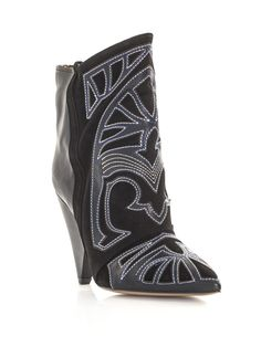 Isabel Marant Boots. One of my customers came in wearing these and I haven't been able to get them out of my head since