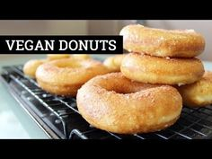 How To Make Vegan Donuts [Glazed Fried Yeast Doughnuts] | Mary's Test Kitchen - YouTube