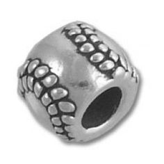 Sterling silver softball charm for all the softball addicts out there!