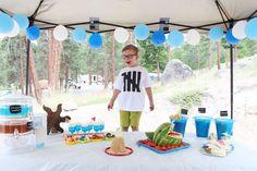 Liam's Ocean Sea themed 5th Birthday Party! Special Day, Special Events, 5th Birthday, Birthday Parties, Birthdays, Kids Rugs, Ocean, Holidays, Party