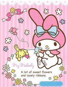 รูปภาพ my melody, sanrio, and kawaii My Melody Wallpaper, Sanrio Wallpaper, Hello Kitty Wallpaper, My Melody Sanrio, Hello Kitty My Melody, Sanrio Hello Kitty, Kawaii Shop, Kawaii Cute, Kawaii Anime