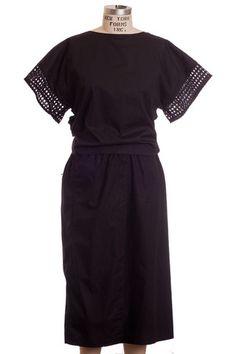 Tome Cotton Poplin Tie Up Dress www.shopserafina.com