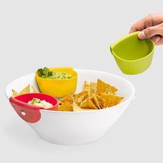 Tasto Chip & Dip Set...genius