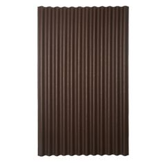 Ondura�79-in x 48-in Brown Corrugated Cellulose Asphalt Roof Panel - for privacy fence