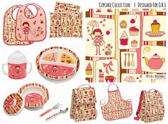 Cupcake Collection | Designed For Ore' Originals by Hang Tight Studio