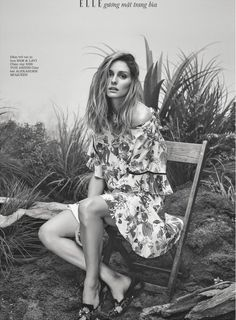 Thrilled to be featured in Elle Vietnam! Take a closer look at my feature and shop items straight from the shoot.