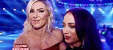 Charlotte Flair and Sasha Banks