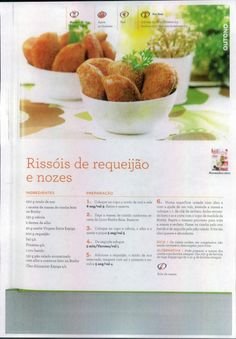 Livro 150 receitas as melhores 2011 Food C, Kitchen Time, Happy Foods, Yummy Appetizers, Cooking Tips, Recipies, Food And Drink, Veggies, Pasta