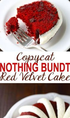 Copycat Nothing Bundt Red Velvet Cake This Copycat Nothing Bundt Red Velvet Cake is amazingly delicious! It tastes so much like the store bought version, but . - Copycat Nothing Bundt Red Velvet Cake Bunt Cakes, Cupcake Cakes, Red Velvet Bundt Cake, Easy Red Velvet Cake, Red Velvet Pound Cake Recipe, Red Velvet Frosting, Red Velvet Muffins, Red Velvet Cupcakes, Cake Mix Recipes
