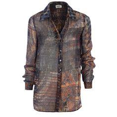 Hirshleifers - L'Agence - Pixel Plaid Printed Blouse (Plaid), 300.00 (http://www.hirshleifers.com/etc/ready-to-wear/tops/lagence-pixel-plaid-printed-blouse-plaid/)