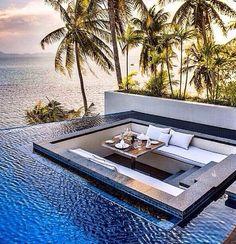 Awesome setup, inspiration from The Conrad Kho Samui - Thailand