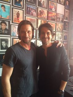 Roger Howarth and Michael Easton                                                                                                                                                                                 More