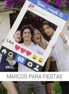 Wedding Photo Booth, Wedding Photos, Youtube Party, Ideas Para Fiestas, 15 Years, Party Time, Projects To Try, Polaroid Film, Birthday Parties