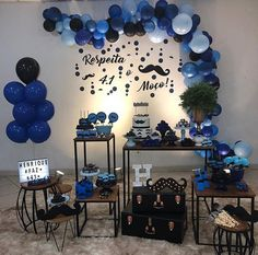Most Popular Simple Birthday Party For Men Ideas 50th Birthday Party Themes, Birthday Decorations For Men, Safari Birthday Party, Tea Party Decorations, Man Birthday, Boy Birthday Parties, Jenni, Black Party Decorations, Male Birthday Parties